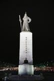Statue d'amiral Yi Sun-Sin Images libres de droits