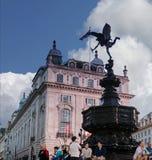 Statue d'amour d'eros au cirque de Piccadilly Londres, Royaume-Uni Image libre de droits