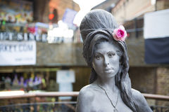 Statue d'Amy Winehouse Photographie stock libre de droits