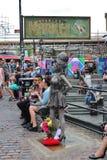 Statue d'Amy Winehouse chez Camden Stables Market Images libres de droits
