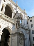 Statue d'Andrea Palladio Photo libre de droits