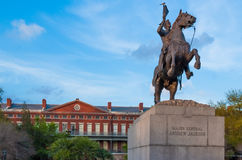 Statue d'Andrew Jackson Photographie stock libre de droits