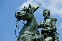 Statue d'Andrew Jackson Photographie stock