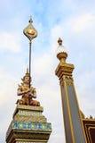Statue d'ange dans le bouddhisme Photographie stock libre de droits