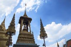 Statue d'ange dans le bouddhisme Photographie stock