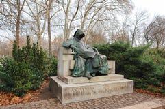 Statue d'anonyme image libre de droits