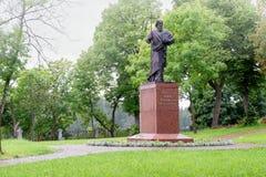 Statue d'apôtre Andrew Pervozvanniy de saint Image libre de droits