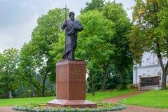 Statue d'apôtre Andrew Pervozvanniy de saint Photo libre de droits