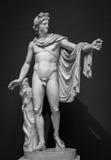 Statue d'Apollo Belvedere images libres de droits