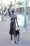 Statue d'art déco à Napier, Nouvelle Zélande Photo libre de droits