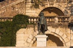 Statue of D'Artagnan Stock Image