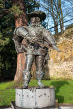 Statue of d'Artagnan. Royalty Free Stock Images