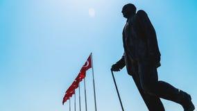 Statue d'Ataturk Photographie stock libre de droits
