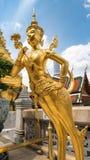 Statue d'or d'ange Photos libres de droits