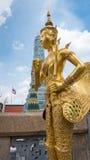 Statue d'or d'ange Image libre de droits