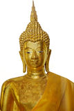 Statue d'or de Bouddha Photos libres de droits