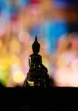 Statue d'or de Bouddha photos libres de droits