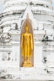 Statue d'or de Bouddha Photo libre de droits