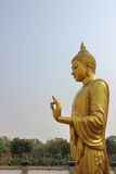 Statue d'or de Bouddha Photographie stock