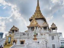 Statue d'or de Bouddha en Phra Maha Mondop | Wat Traimit, Bangkok photo libre de droits