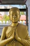 Statue d'or de Bouddha, gros Bouddha photographie stock libre de droits