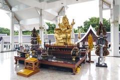 Statue d'or de Ganesha (Ganesh, Ganapati). photo libre de droits