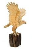 Statue d'Eagle Wooden image libre de droits