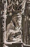 Statue d'ecclésiastique image stock