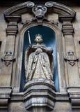 Statue d'Elizabeth I au Dunstan-dans-le-Ouest de rue Images libres de droits