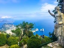 Statue d'empereur Augustus photos libres de droits