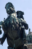 Statue d'empereur Franz Joseph I - Vienne Images libres de droits