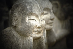 Statue d'enfants Photos libres de droits