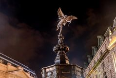Statue d'eros Dieu mythologique grec de l'amour au mémorial Photo libre de droits