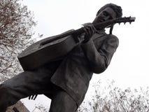 Statue d'Evlis sur la rue de Beale, Memphis, TN Images libres de droits