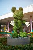 Statue d'herbe de souris de Mickey Images libres de droits