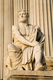 Statue d'historien de Vienne - de Tacite Image libre de droits