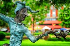 Statue d'imbécile au Minnesota images stock