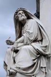 Statue d'Isaïe Photo stock