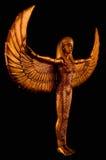 Statue d'ISIS Images libres de droits