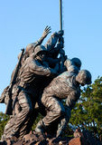 Statue d'Iwo Jima dans le Washington DC Photo stock