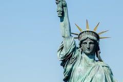 Statue d'Odaiba de la liberté Photos stock