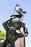 Statue d'Otto von Bismarck Image libre de droits