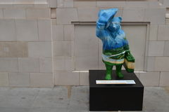 Statue d'ours de Paddington Photos libres de droits