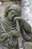 Statue d'un berger Images libres de droits