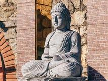 Statue d'un Bouddha image stock