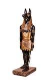 Statue d'un dieu égyptien antique Anubis Photos libres de droits