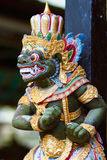Statue d'un dieu de Balinese Photo stock