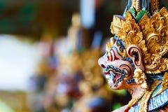 Statue d'un dieu de Balinese Images libres de droits