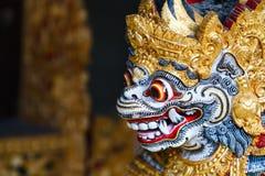 Statue d'un dieu de Balinese Photos stock