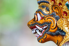 Statue d'un dieu de Balinese Photographie stock libre de droits